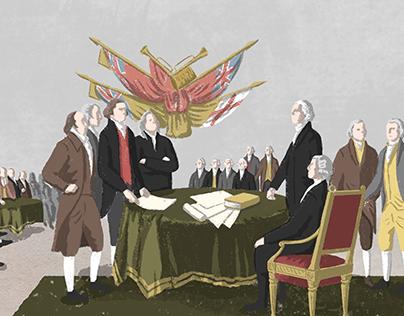 eightyº Magazine Illustrations:The Boston Tea Party