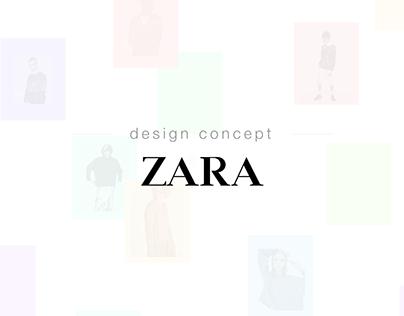 Zara Redesign Concept