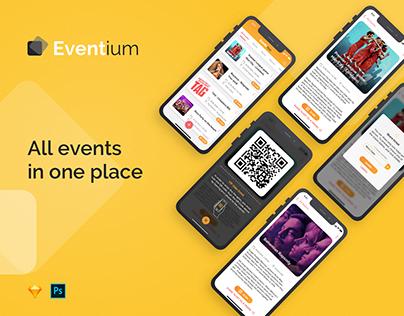 Eventium - Event tickets app