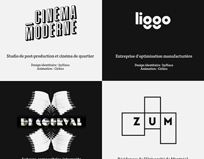 Cirkus Animation - Motion Design (Logos)