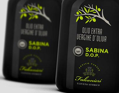Extra Virgin olive oil packaging Casale Falconieri