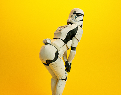 Stormtrooper Pinup