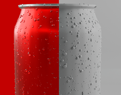 Red Can/3D Modeling