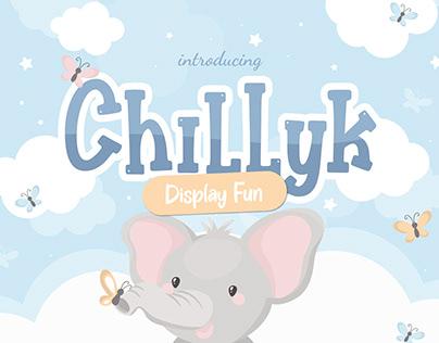 CHILLYK FUN DISPLAY - FREE FONT