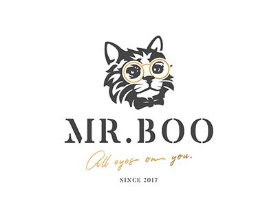 Mr. Boo: Logo, Website
