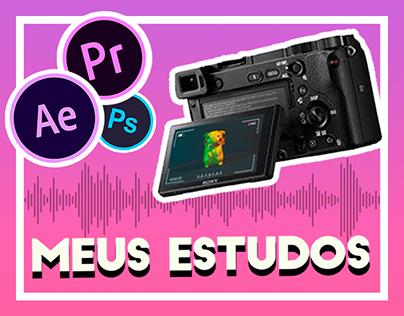Estudos de Motion/Sound Design/Filmagem/Colorização