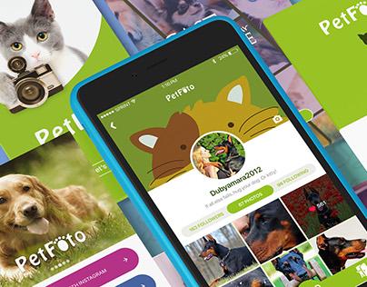 PetFoto App UI/UX Design