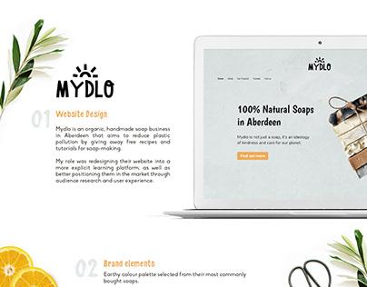 Handmade Soaps Website Design