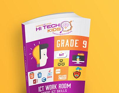 HiTech Kids | School Book Wrapper Design