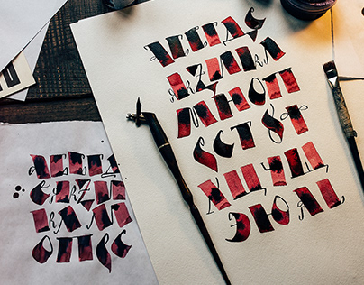 Calligraphy/Lettering Set 1