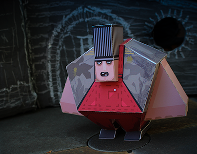 The Brute - Paper Toy