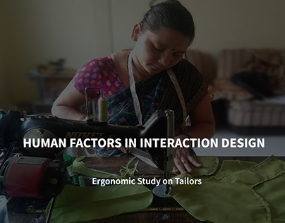 Human Factors In Interaction Design - Tailors
