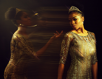 The Shimmering Dress