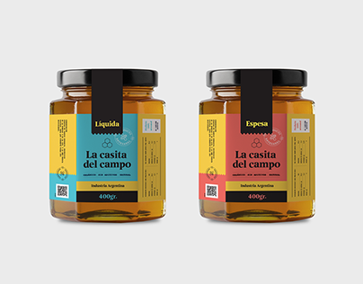 Product & Brand Design – La Casita del Campo® Honey