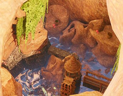 Underground Cave Civilization