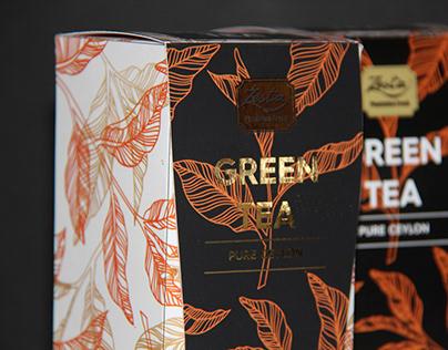 Zests Green Tea Repackaging