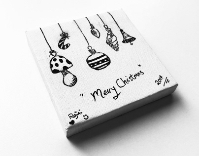 Christmas canvas 2