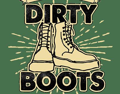 Diseño para Dirty Boots Arg