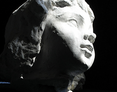 CHILD PORTRAIT #6// sculptor HALINA SHAMARA
