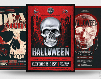 Halloween Flyer Bundle V8