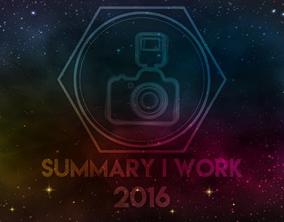 Summary I work 2016