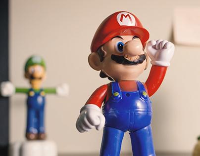 Resgate // Mario Bros Stop Motion