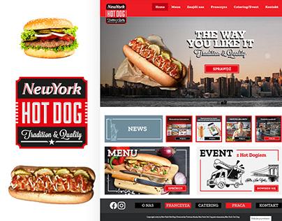 New York Hot Dog - strona internetowa