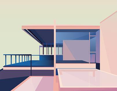 TECHNICOLOR | ARCHITECTURE ILLUSTRATION