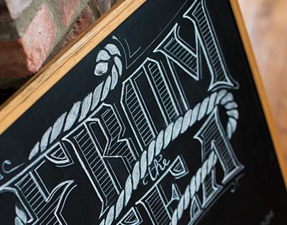 Main St. Pizzeria Chalkboard menu