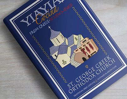 """YiaYia's Cocina"" Greek CookBook Cover"