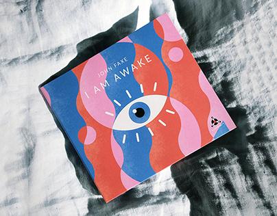 John Faxe - I Am Awake - CD-cover design