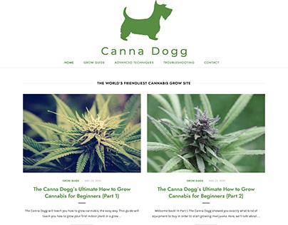 Cannadogg Blog Design