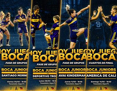 Hoy Juega Boca - DX - Copa Libertadores Femenina