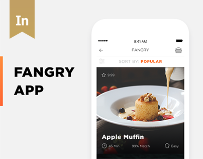 Fangry Food Mobile App