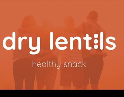 Dry Lentils - Healthy Snack