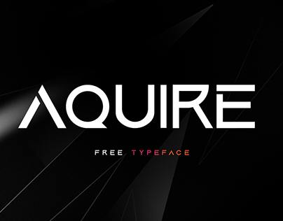 Aquire Font [ FREE TYPEFACE ]