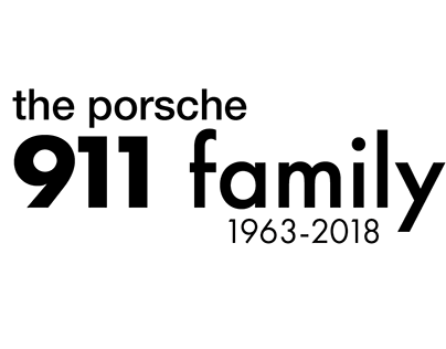 The Porsche 911 family - poster project