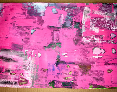 Fun with acrylic colors