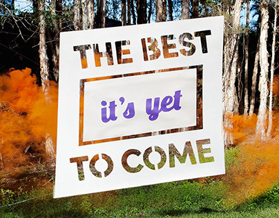 The best is yet to come. Self promotional video