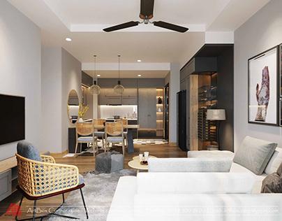 Artbox's Design for Apartment