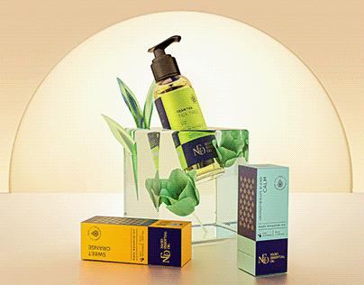 NEO   Essential Oil Packaging - 2D & 3D Showcase