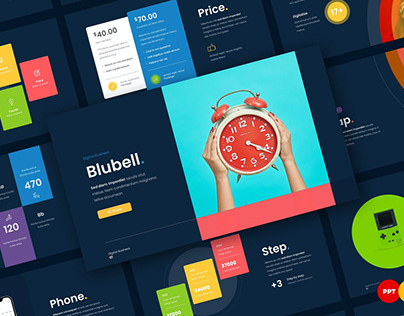 Blubell - Digital Business Presentation