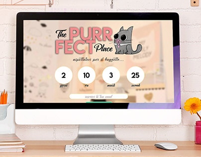 The Purrfect Place - Coming Soon Page