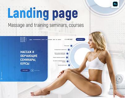 Landig Page | Ellite Massage