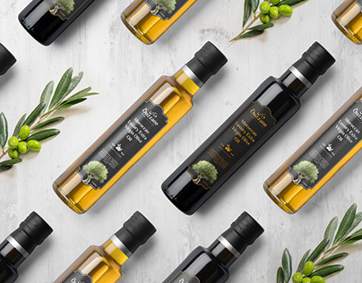 Ouzzan - Olive Oil Packaging Design