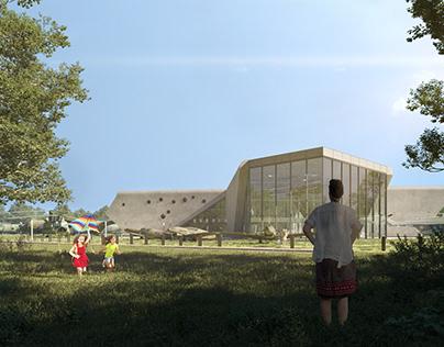 Exterior marathon project 4.Polish Aviation Museum.