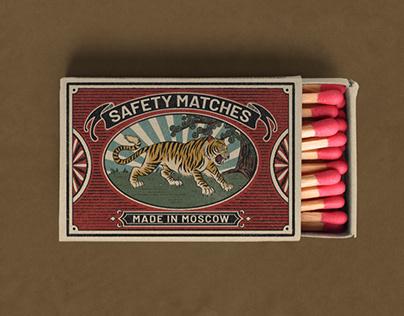 Retro matches design