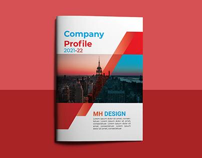 Company Profile | Template Design 21-22