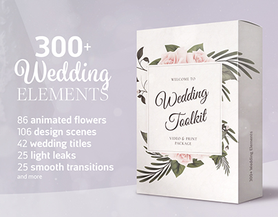 Wedding Toolkit - Video & Print Package | Titles Motion