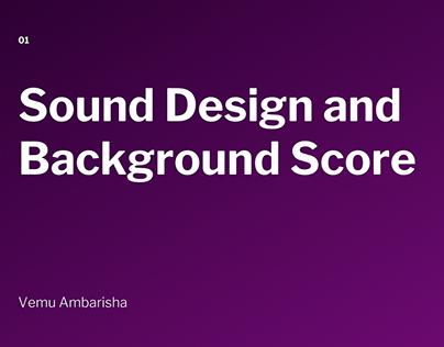 Passion Project - Sound Design and Film Score